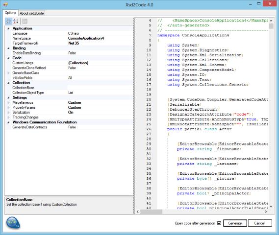 xsd2code++ 2019 setup - Visual Studio Marketplace